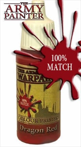 Army Painter WP1105 Warpaints - Dragon Red, 18 ml