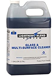 Franklin Cleaning Technology F456022 Lightning Blend #8 Glass and Multi-Surface Cleaner, 1 Gallon (Pack of 4)
