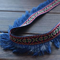New 5 Yard/Lot Tassel Fringe cotton lace Trim Ribbon Sewing Latin Dress Stage Garment Curtain DIY Accessories 3CM Wide. 3