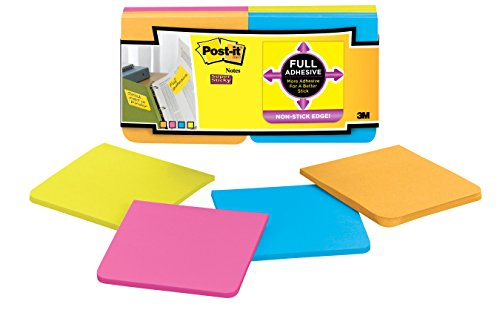 Post-it Super Sticky Full Adhesive Notes, 3 in