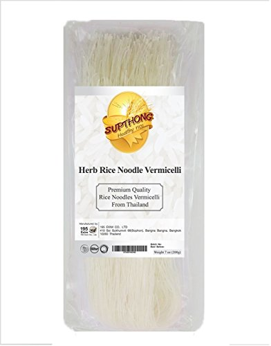 Supthong Thai Rice Noodle Vermicelli (7 Oz.) (Cuisines Popcorn Maker compare prices)