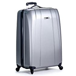 Delsey Luggage Helium Shadow Lightweight Four-Wheel Spinner