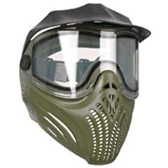 Buy Empire Invert Helix Thermal Lense Paintball Mask Anti-Fog Goggle - Olive by Empire