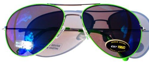 Aviator-Classic-Sunglasses-Black-Silver-Bronze-Gold-Blue-Green-Yellow-White