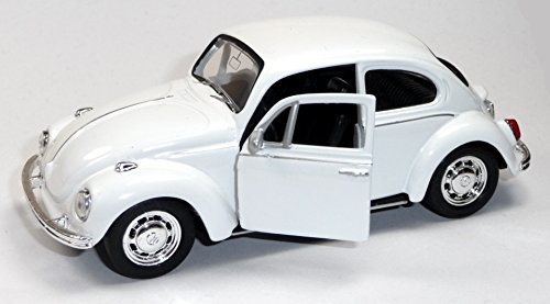 Alsino-VW-Beetle-Modellauto-12-cm-Kfer-Modell-134-Bug-Auto-mit-Rckzug-Welly-Variante-whlen560040-VW-Kfer-wei
