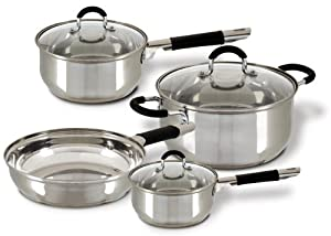 Cuisine select vittorio 7 piece stainless for Art and cuisine cookware
