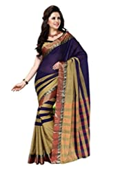 AISHA Printed Fashion Cotton Multicolor Sari