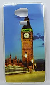 FCS Designer Silicon Back Case for LYF Wind 2 With Printed Design