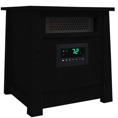 LifePro LifeSmart LS-8WIQH XLarge Room Portable 8 Element Infrared Quartz Heater (Heat Smart Infrared Heaters compare prices)