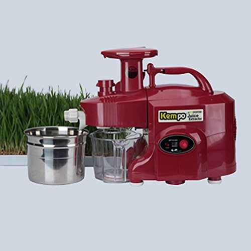 New GREEN POWER KEMPO GPT-E1303S Standard-Type Twin gear juicer-Red ;TM79F-32M UGBA642878 (Green Power Twin Gear Juicer compare prices)