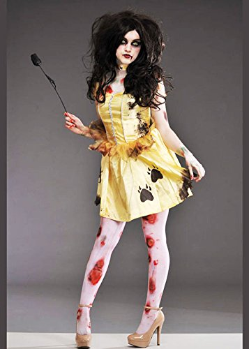 Womens Halloween Zombie Belle Costume Large (UK 12-14)