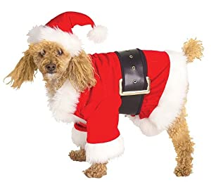 Rubies Costume Christmas Collection Pet Costume, Santa Claus from Rubies Decor