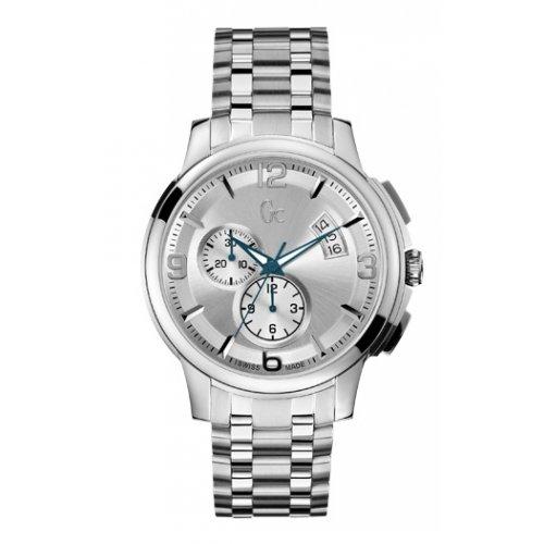 GUESS Men's Gc Classica Chrono Timepiece - Silver