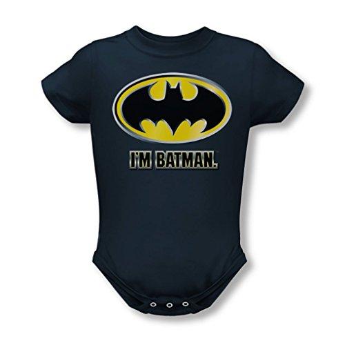 Batman-Batman-Tuta intera da bambino, I'M, colore: blu scuro blu blu navy