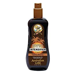 Australian Gold Dry Oil Intensifier with Bronzer, 8 Ounce