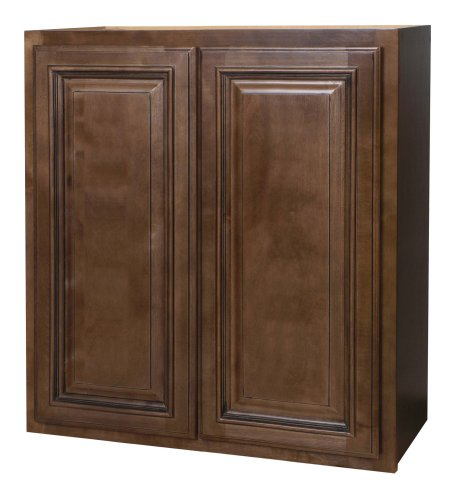 Kraftmaid kitchen cabinets all wood cabinetry w2730 hcg for Chocolate maple glaze kitchen cabinets