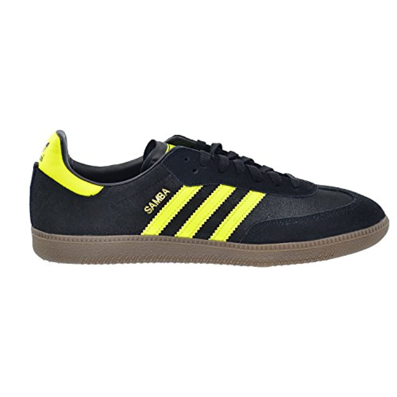 huge selection of 10eba e02c1 Adidas Samba Originals Mens Shoes BlackElectricGum d65452 (7.5 D(M . ...