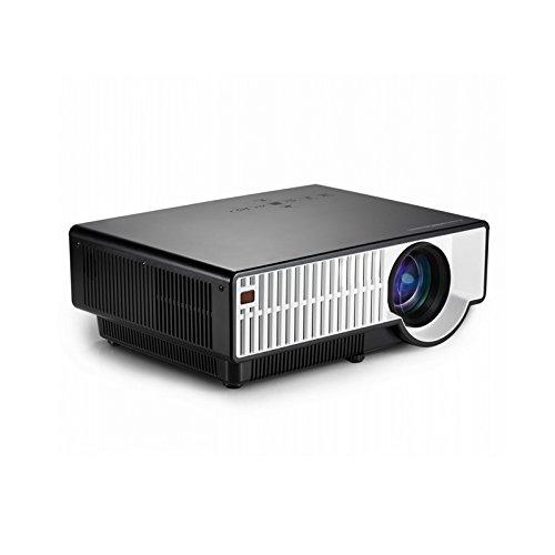 Fastfox Hd Projector Full Color 720p 3000 Lumens Analog Tv: FastFox PRW300 1280x800 LED LCD 2800 Lumen Full HD