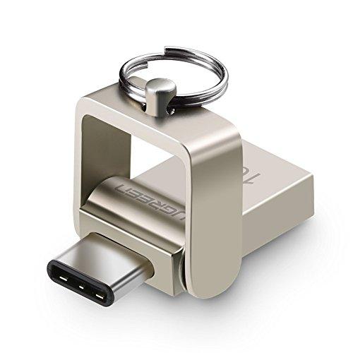 cl usb c otg ugreen 16 go otg cl usb 3 0 type c double connectique flash drive en bo tier. Black Bedroom Furniture Sets. Home Design Ideas