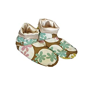 Herbal Concepts Comfort Booties with Removable Cover, Oops A Daisy