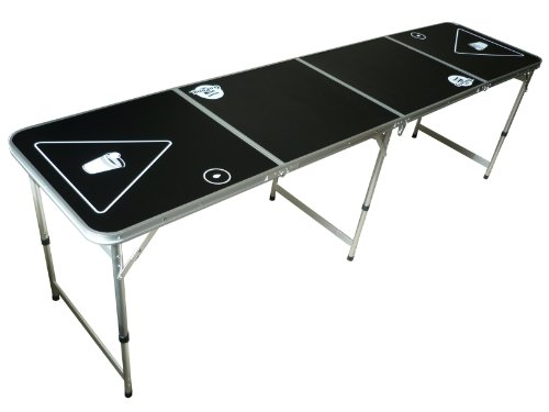 Go Pong 8-Foot Portable Folding Beer Pong / Flip Cup Table