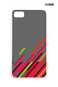 Lorem Back Cover For BlackBerry Z10 -Multicolor-L16443