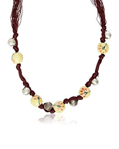 Sándalo Collar Iris101 Amarillo