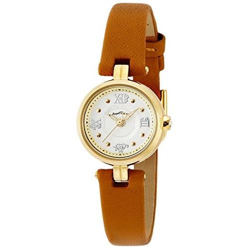 [エンジェルハート]Angel Heart 腕時計 トゥインクルハート シルバー文字盤 スワロフスキー ステンレス(YGPVD)ケース NT20YG-BW レディース