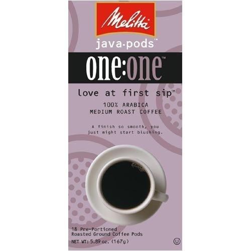 Melitta Love at First Sip Coffee Pod 18 Ct. by Melitta