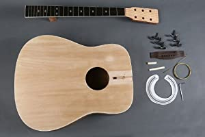Diy Builder Acoustic Guitar Kit. Customize and Make Your Own. from RAS