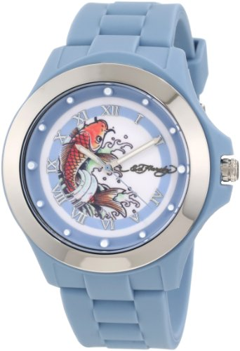 Ed Hardy Women's MT-BL Mist Blue Watch