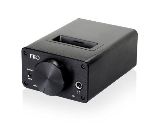 FiiO Qogir E09K Desktop Headphone Amplifier with Dock for E7 Black Friday & Cyber Monday 2014
