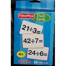 Fisher Price Division Flash Cards - 1