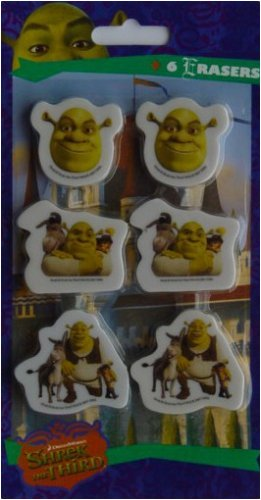 Shrek the Third Erasers - 1