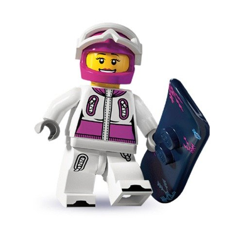 Lego Minifigures Snowboarder Lego Minifigures Series 3