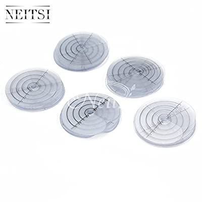 Neitsi® Single Hole Spacer Template for Fusion Human Hair and Feather Extensions and I Tip