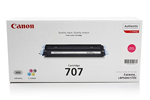 Canon I-Sensys LBP-5100 - Original Canon 9422A004 / 707M - Cartouche de Toner Magenta - 2000 pages