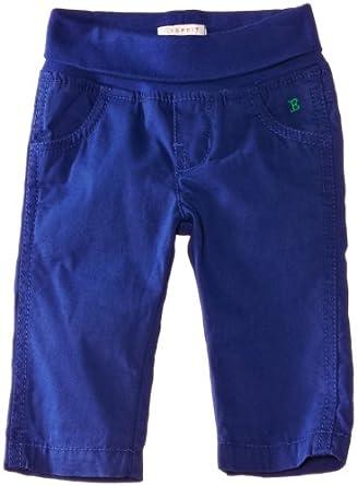 ESPRIT Baby Boys Woven Trousers, Delft Blue, 6-12 Months (Manufacturer Size:68)