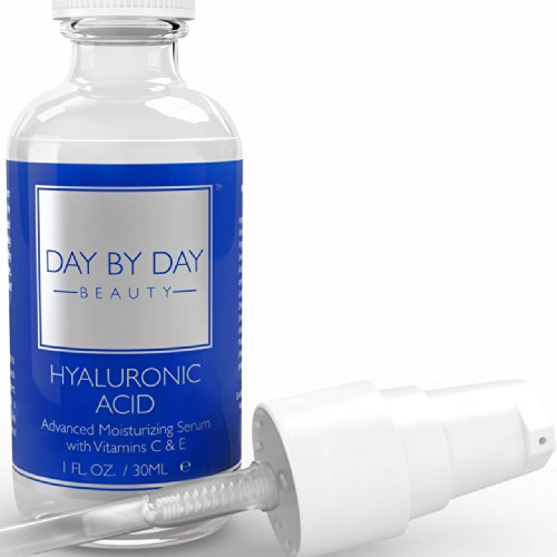 Hyaluronic Acid Serum For Skin: Put Your Best Face Forward With Potent Hyaluronic Acid, Essential Vitamin C & More ~ Enjoy Benefits Of Natural, Deep Hydration & Boosted Collagen Production ~ Supplements With Antioxidants To Reduce Fine Lines & Wrinkles.