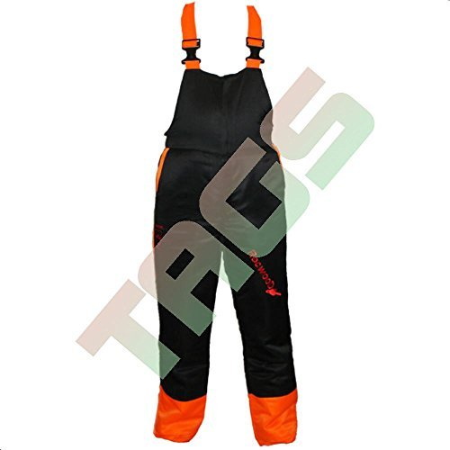 Chainsaw Forestry Safety Bib & Brace Trousers XL Extra Large 39 – 41 by RocwooD