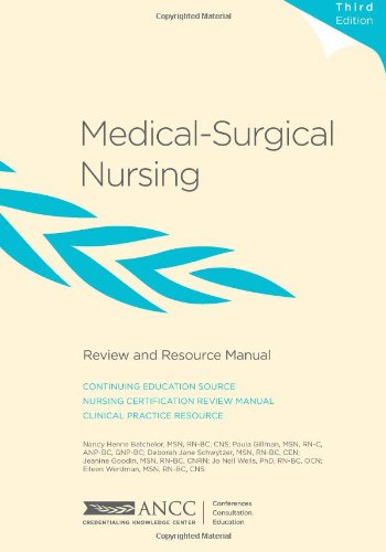 Medical-Surgical Nursing Review And Resource Manual