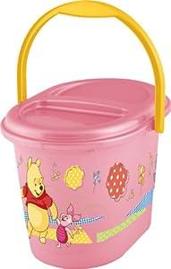 OKT Kids 1180055200300 - Contenedor para pañales, diseño de Winnie the Pooh, color rosa
