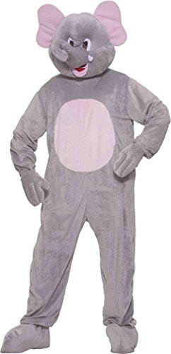 Ernie The Elephant Mascot Adult Costume Size One-Size
