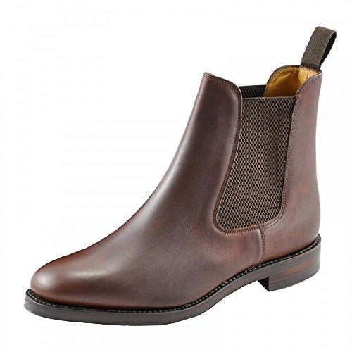 loake-blenheim-mens-chelsea-boots-uk8-eu42-us85-brown-waxy