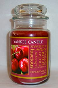 Cherry - 22 Oz Large Jar Yankee Candle