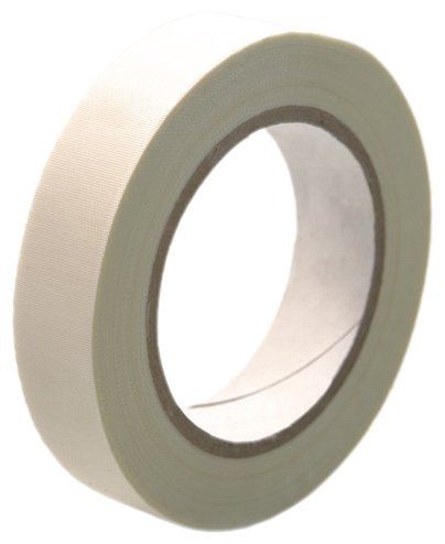 Cs Hyde High Temperature Fiberglass Tape With Silicone Adhesive, Ivory 1 Inch X 36 Yards