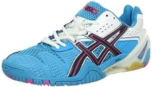 ASICS Women's GEL-Blast 5 Shoe,Ocean Blue/Black/White,6 M US