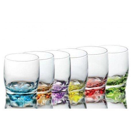 set-of-6-whisky-glasses-tumblers-multicoloured-250ml-unique-design