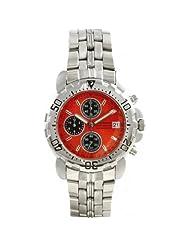 Krug Baumen 7186G-O Sportsmaster Orange Chronograph Watch