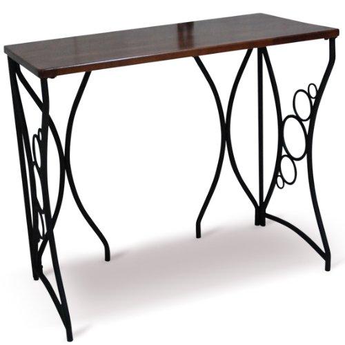 ウッド天板 スチール デスク テーブル 机